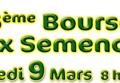 Bourse aux Semences – Mars 2019